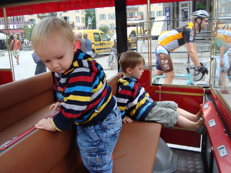 We decided to ride the Show Train around town