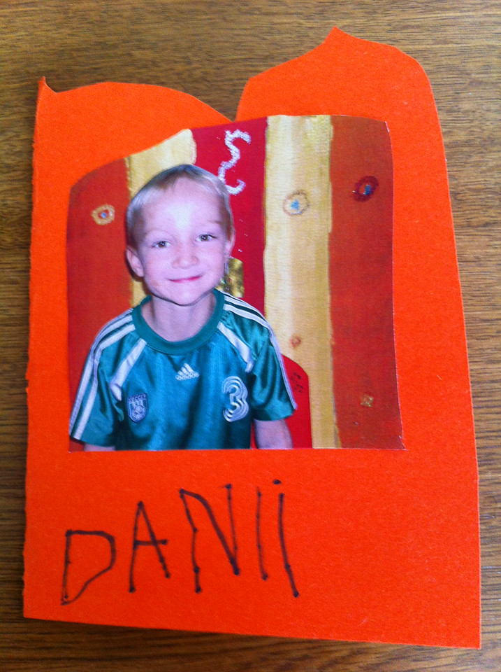 Danny made this card ...