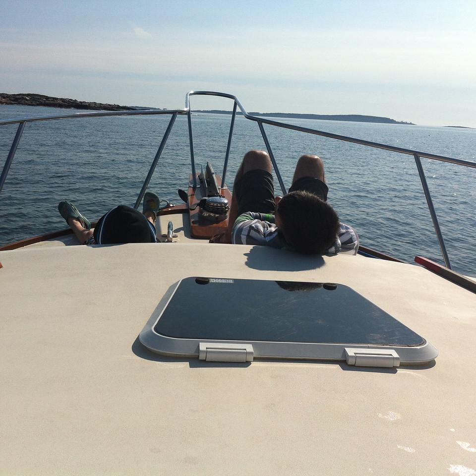 106 Sunday Chilling Maine-Style