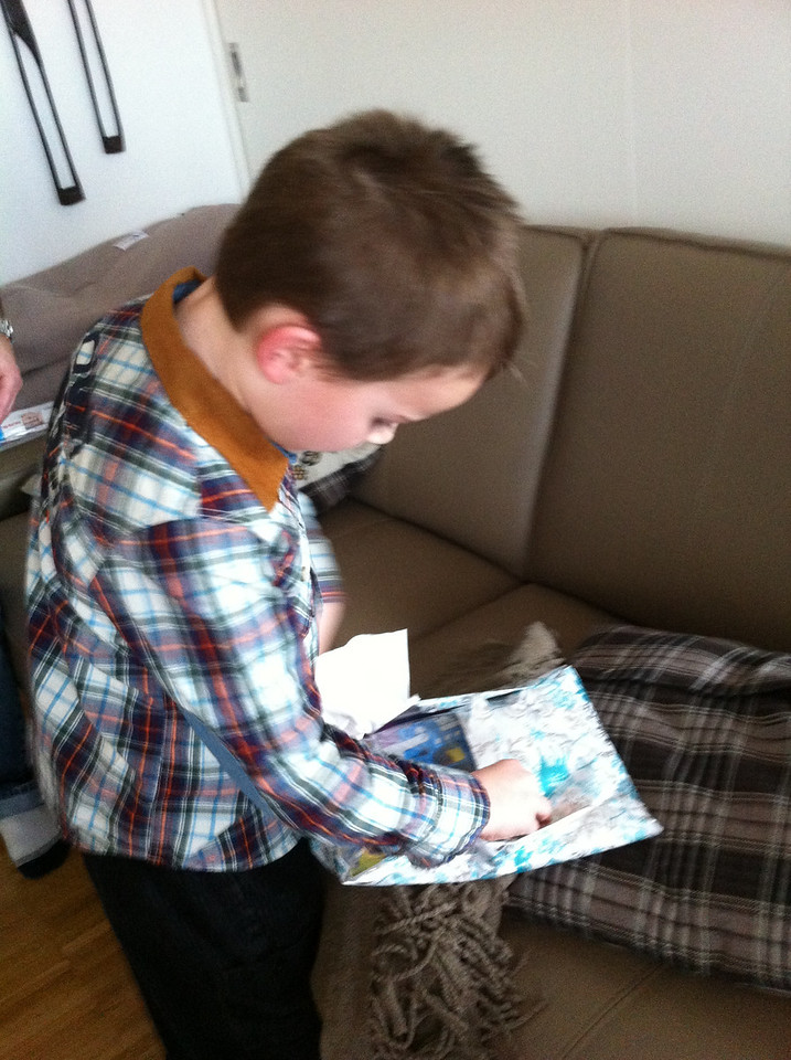 008 Jack Opening His Present