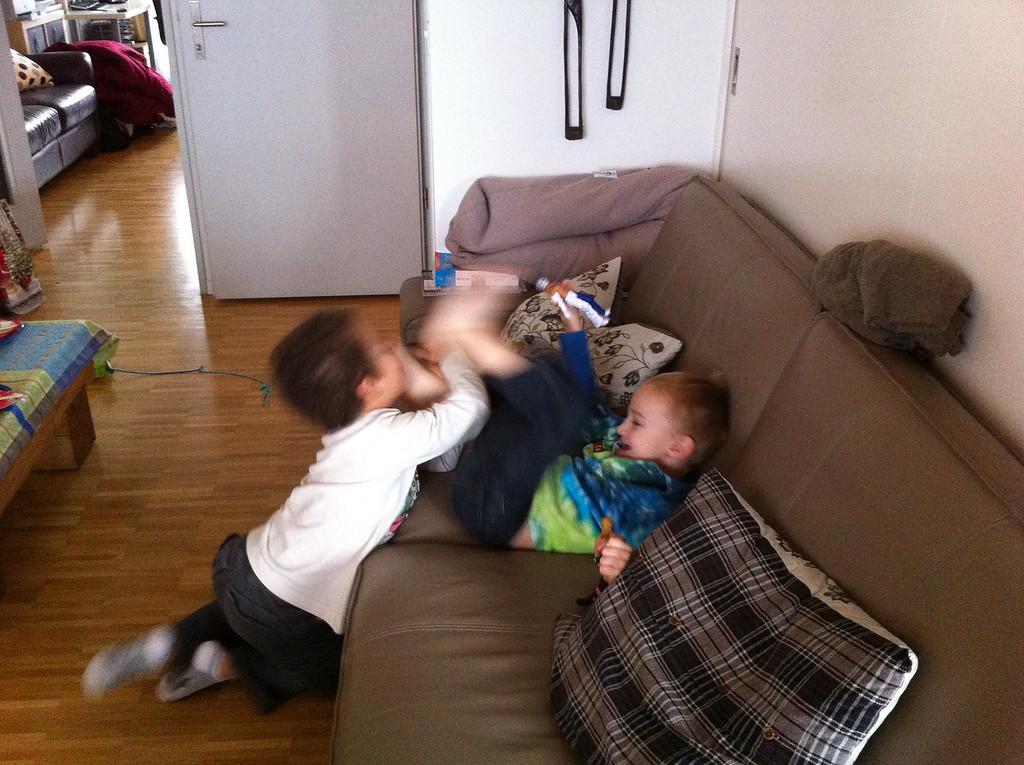 Cullen & Danny tickling