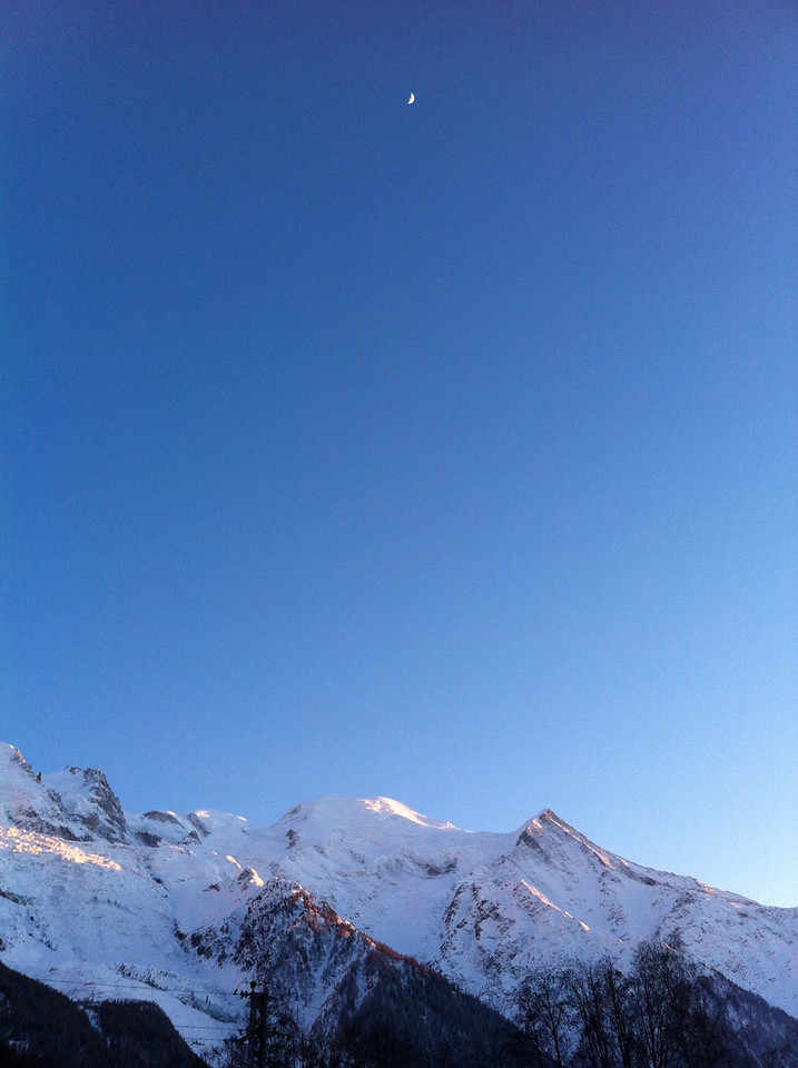 017 Moon Over Mont Blanc