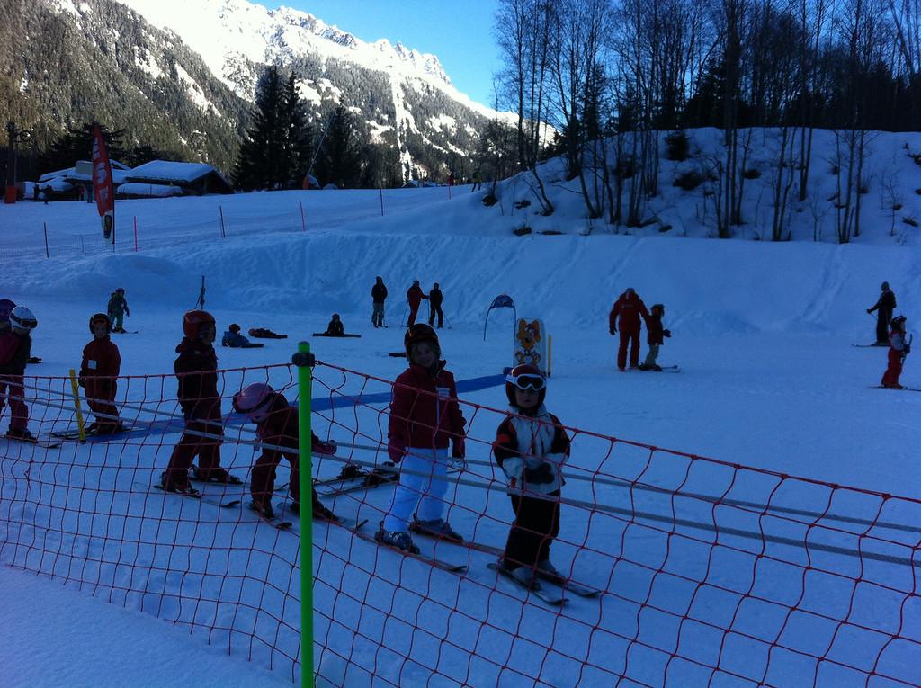 020 Izzy in Ski School