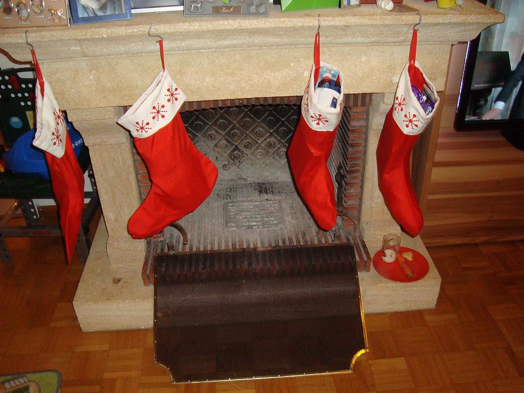 Stockings are full, snacks are eaten ...
