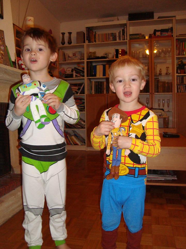 Buzz & Buzz & Woody & Woody