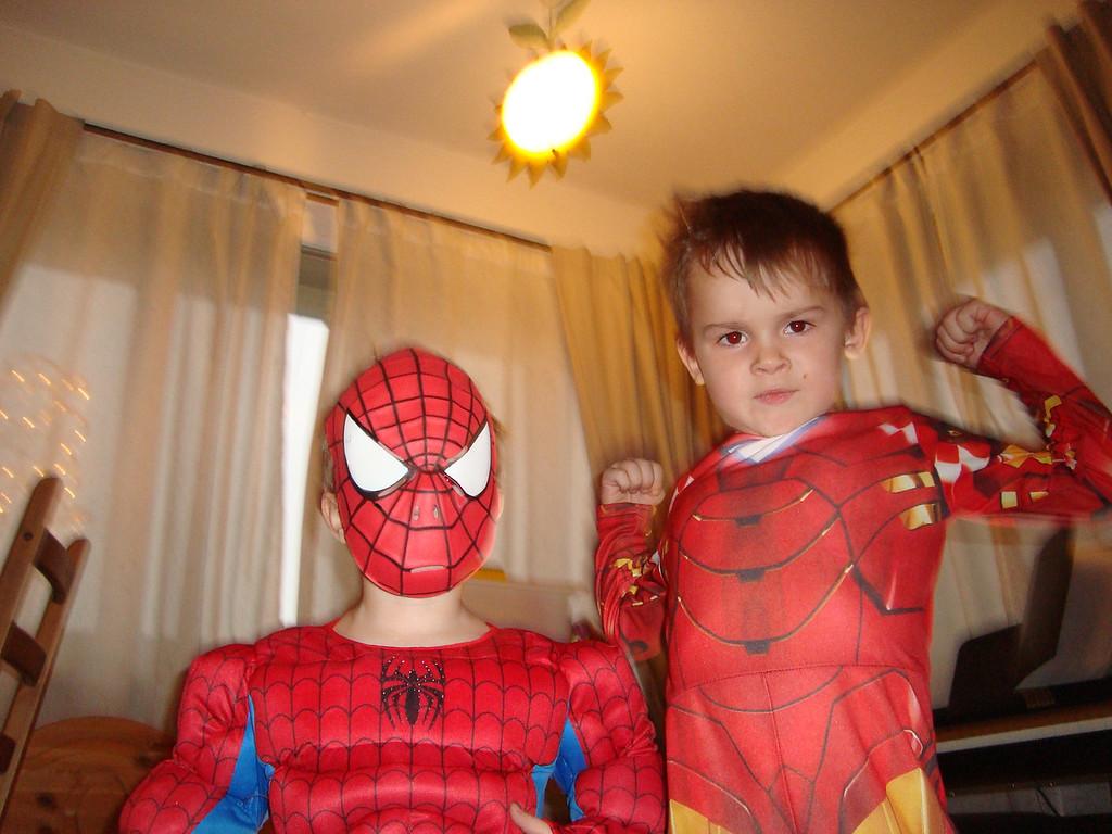 029 Spiderman & Ironman