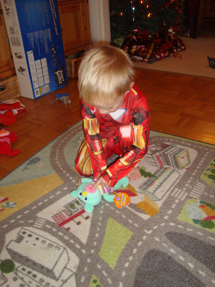 Baby Ironman and his Singamajig from the Frickes