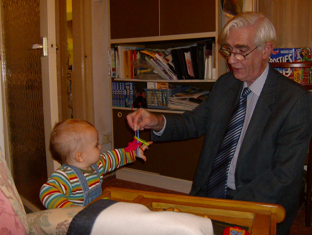 023 Playing with Grandpa