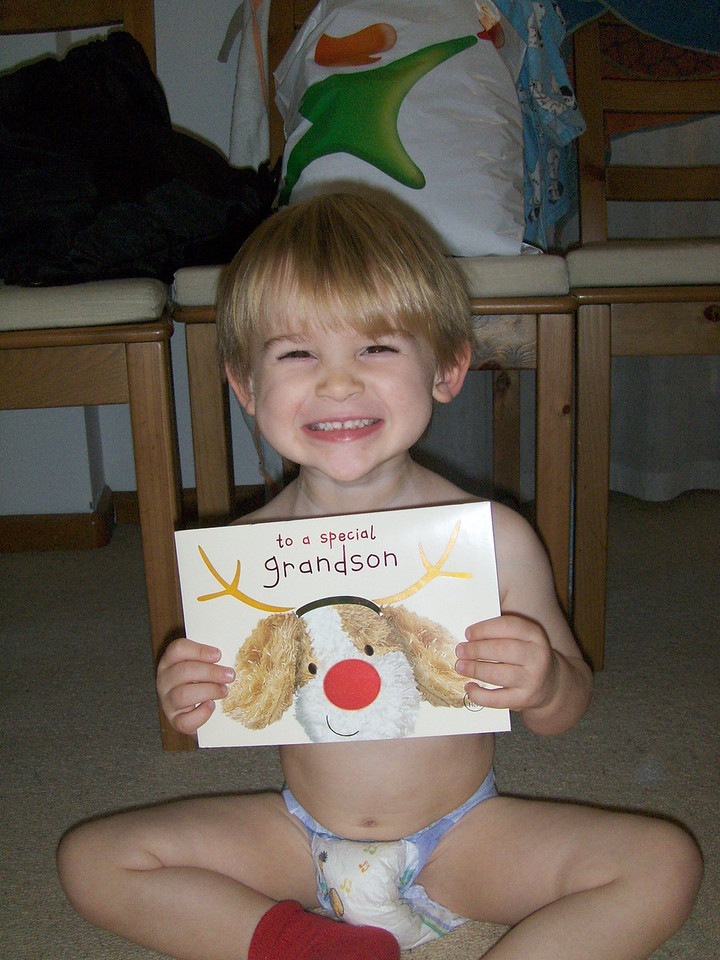 Jack is really pleased with his card too!