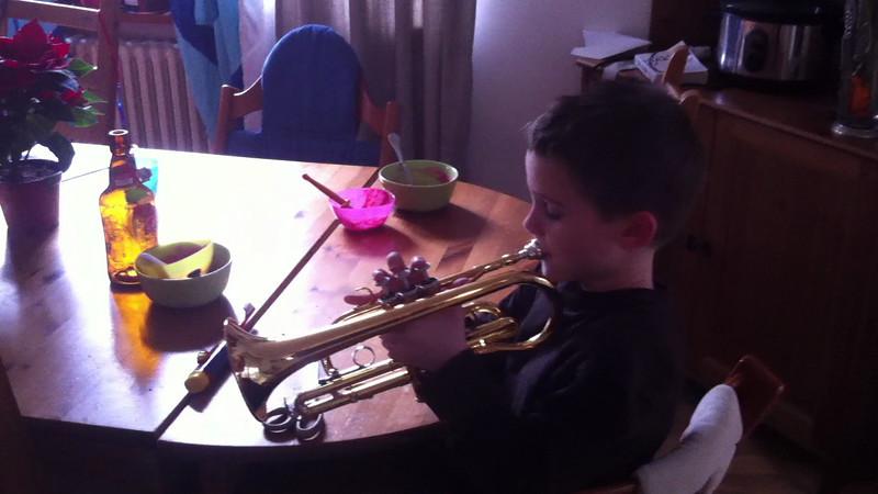 047 Silent Night trumpet