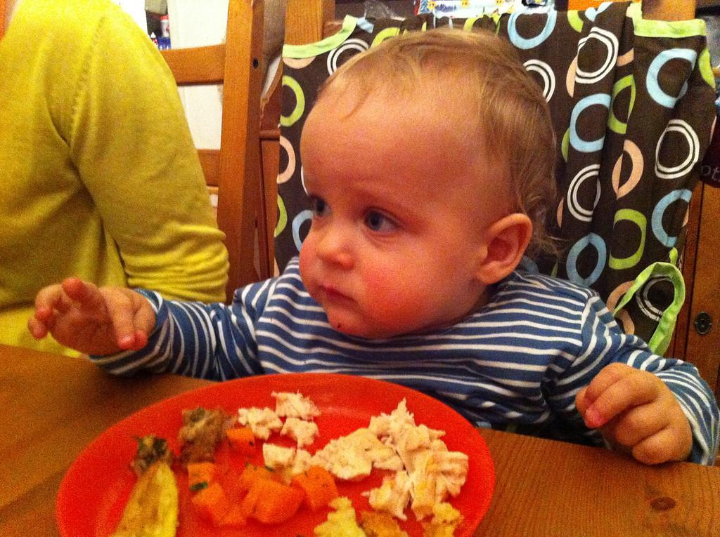 Baby roast dinner for Owen