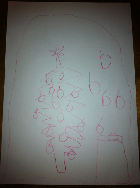 Danny's cool picture of a Christmas tree
