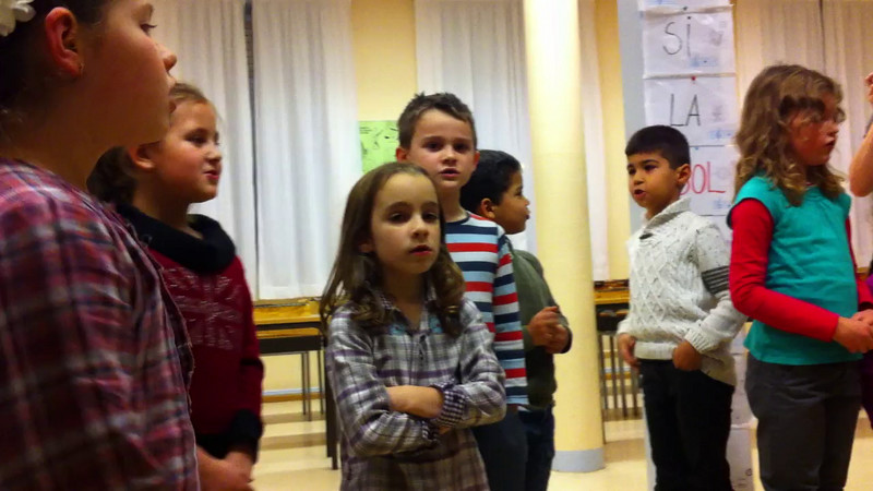 Jack's music class gave a little pre-Christmas concert also