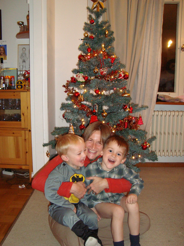 SOOO excited about the tree, Christmas, Santa Claus etc...