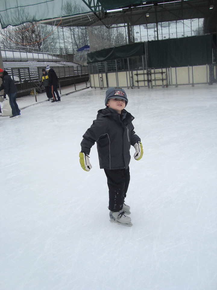 Spent a nice morning at the rink with the Hannons having not skated for a few weeks