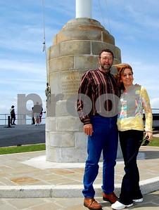 Bill & Linda at Fort Sumter.
