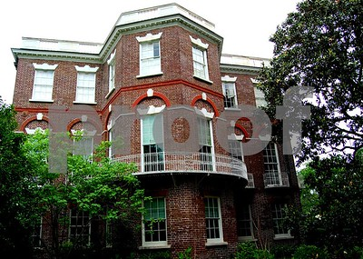 The Nathanial Russell home in Charleston, SC