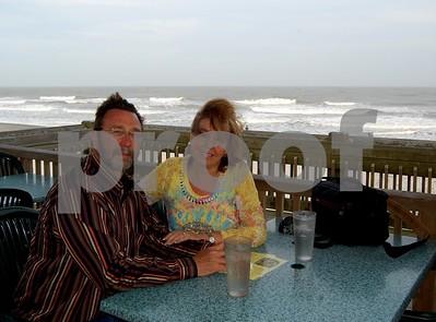 Earlier dinner at Folly Beach, SC