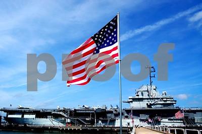 USS Yorktown at Patriot's Point.