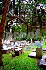 An old cemetary that had some graves dating from the early 1700s.