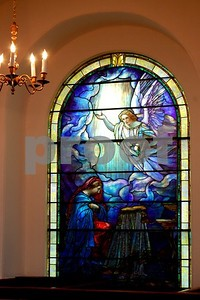 Another beautiful stained glass window in St. Michael's in Charleston.