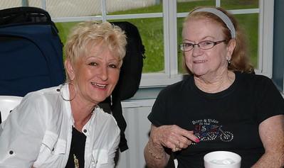 Paula Justice and Betty Borella