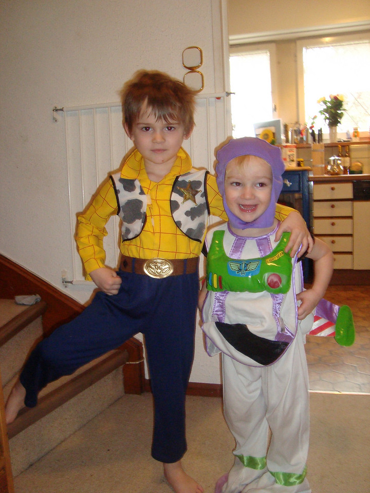 In a role-reversal to the norm - we have Woody & Buzz