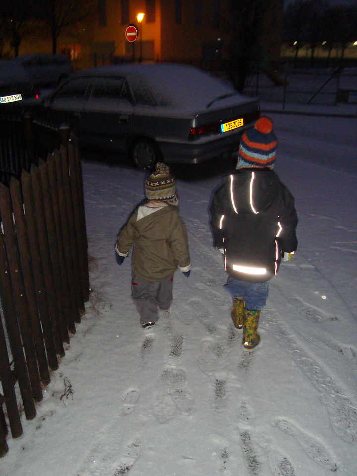 013 Snowy Morning Walk to Tatas