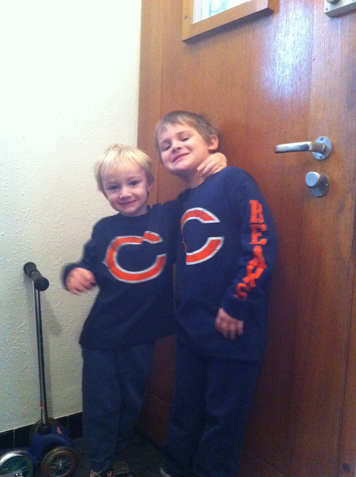 My little Bears (does this count as child cruelty?!)