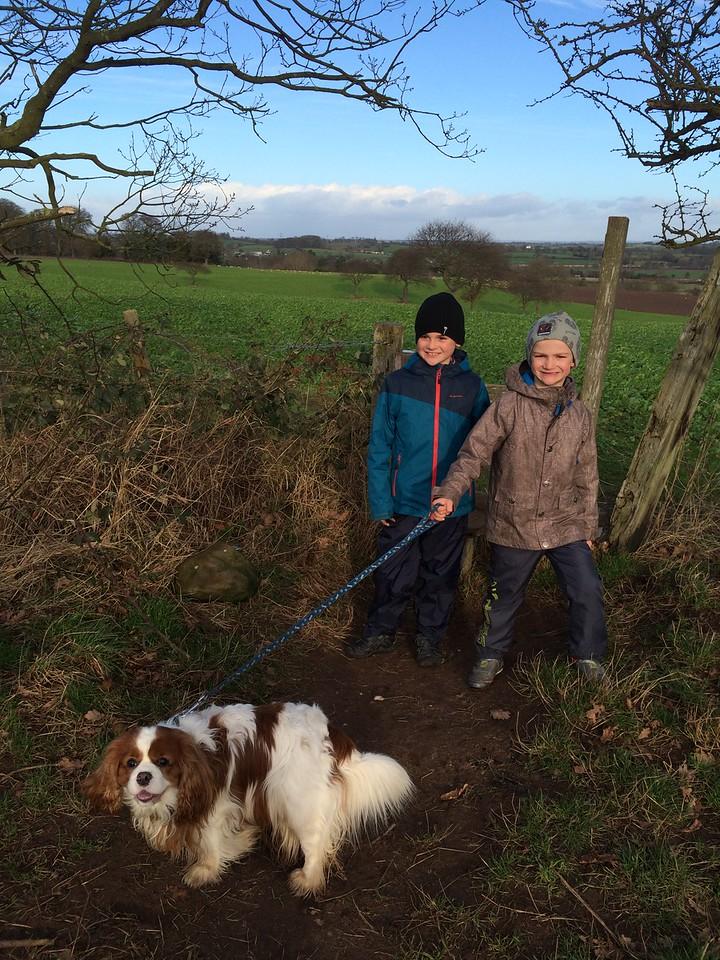 030 Beautiful Walk with Bertie