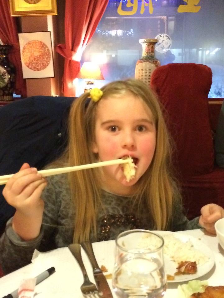 007 Izzy Uses Chopsticks