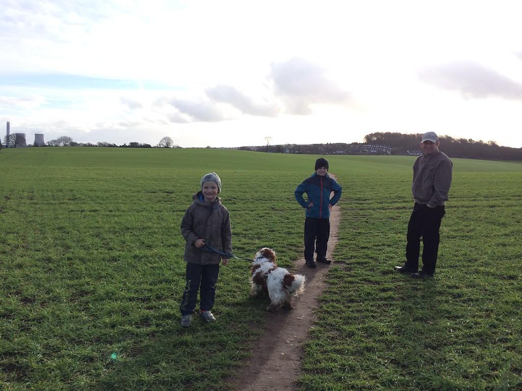 034 Beautiful Walk with Bertie