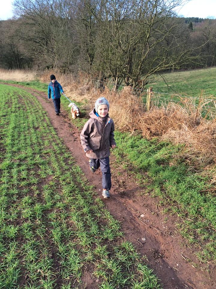 033 Beautiful Walk with Bertie