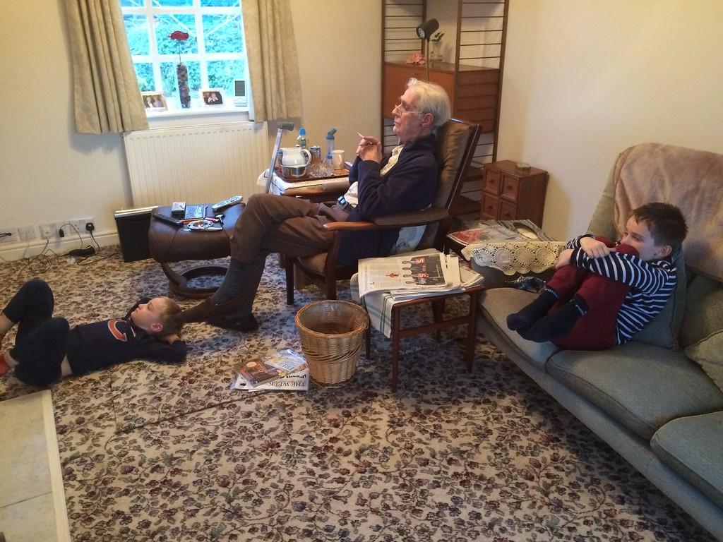 037 Watching TV with Grandpa