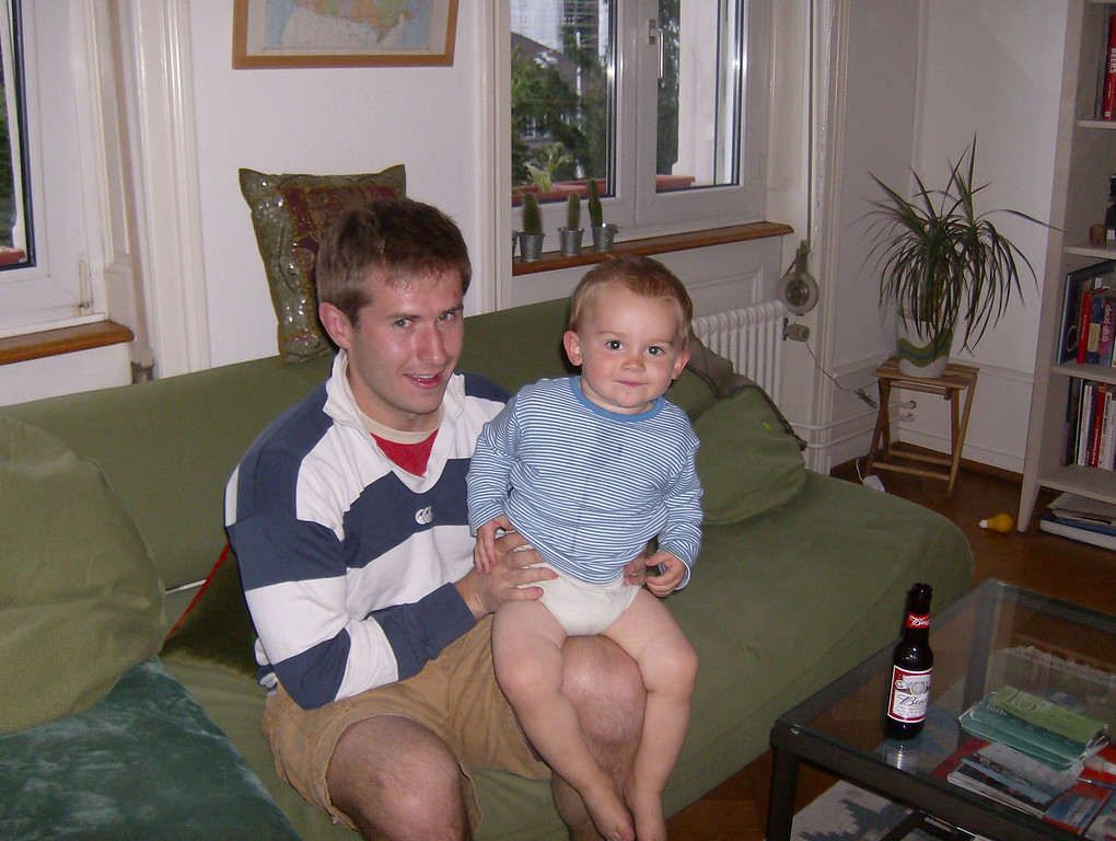 Josh & Sonia invited us over for a 4th of July BBQ. What a handsome pair of guys.