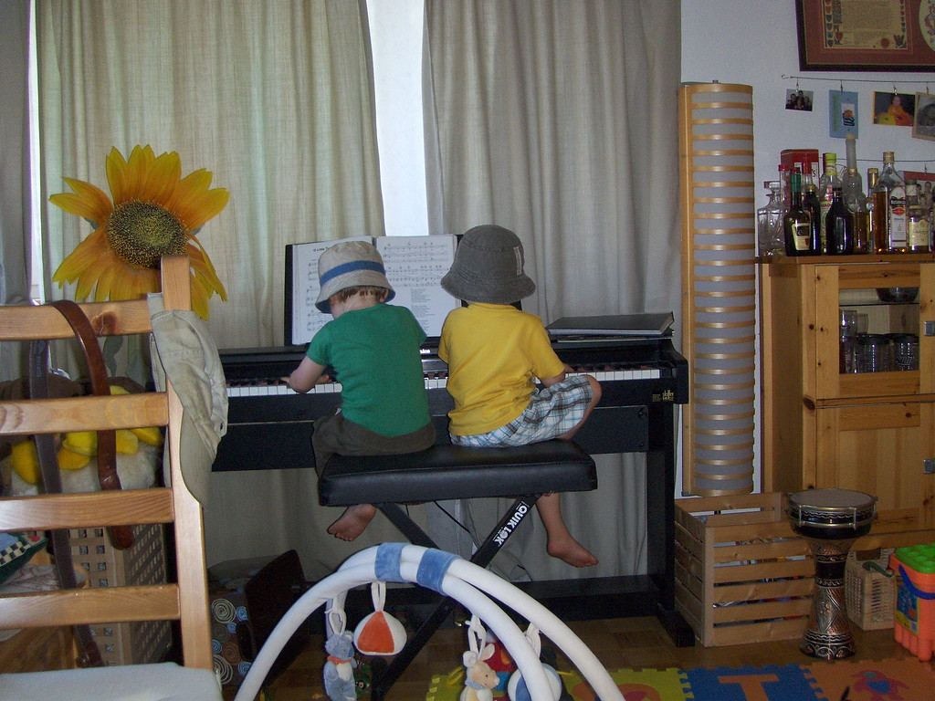 ... followed by a piano duet