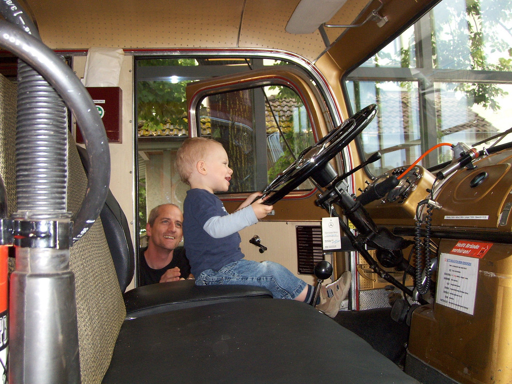 031 Gabriel Driving the Fire Engine