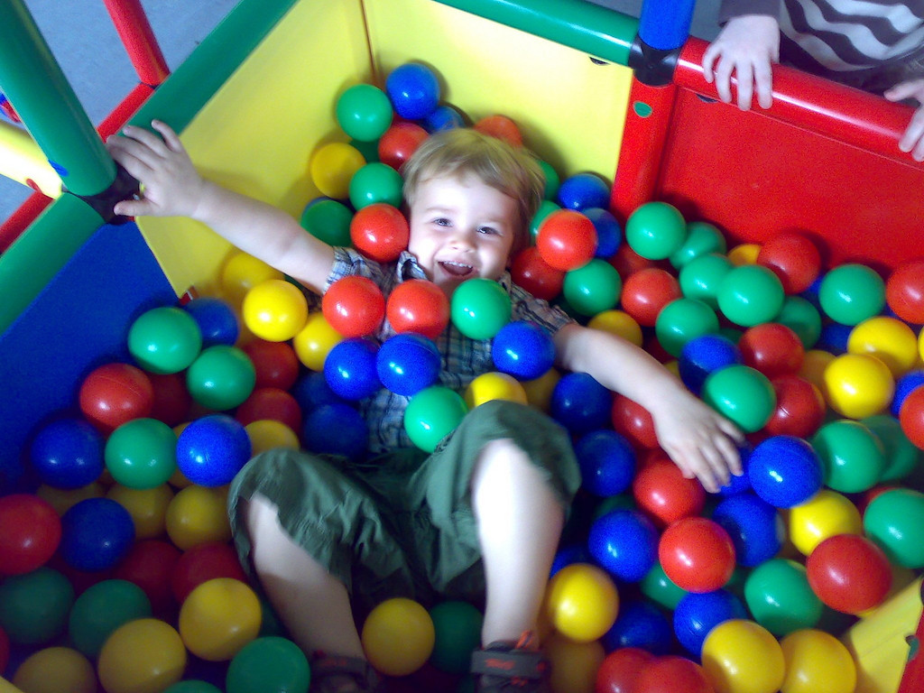 040a Drowning in the Ball Pit