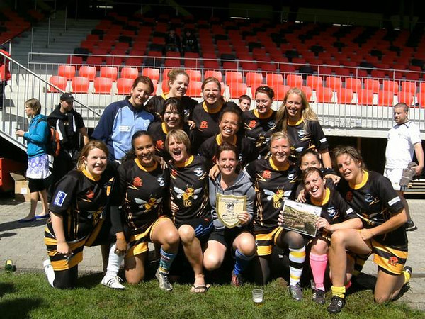 The Luzern 'Killer Bees' won the St. Gallen 10's tournament back in June - only just got this picture from someone ...