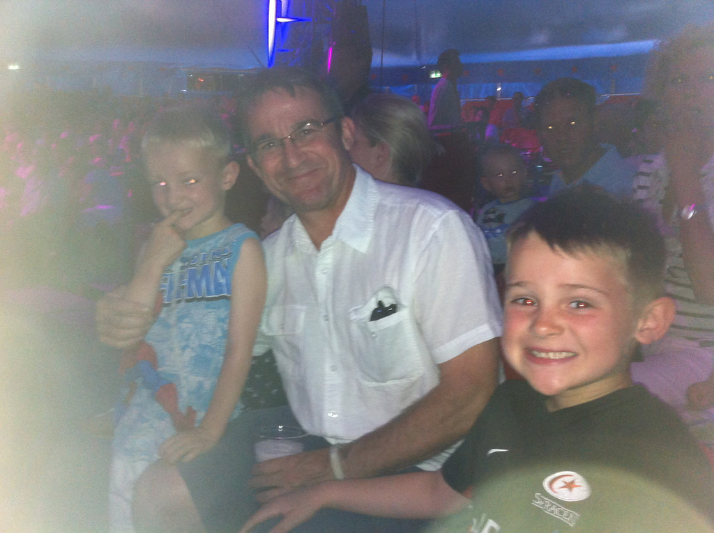 Our annual Fathers Day treat @ Circus Knie!