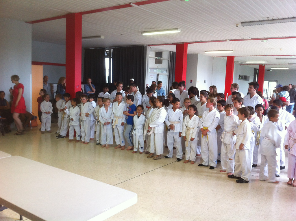 Karate end-of-year party