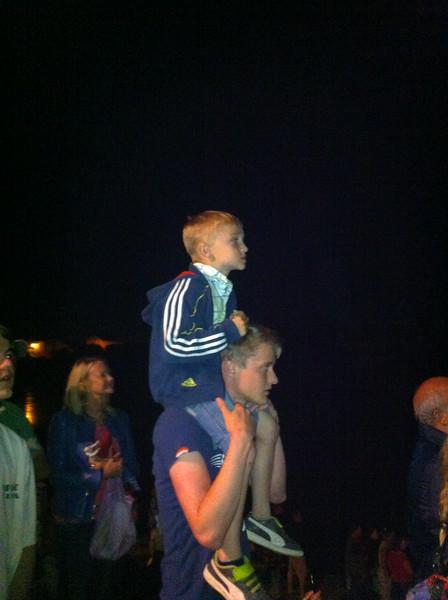 040 Watching July 14th Firework