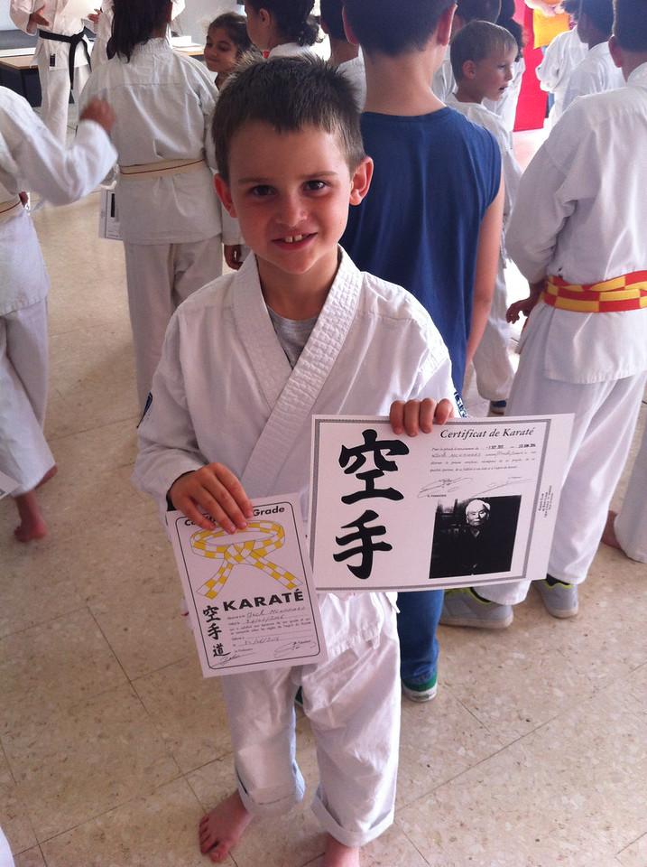 002 Karate Certificate