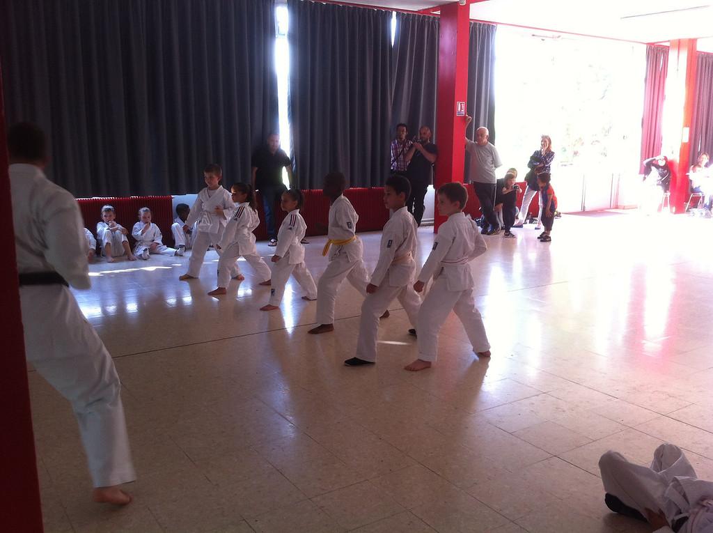 Jack's karate test