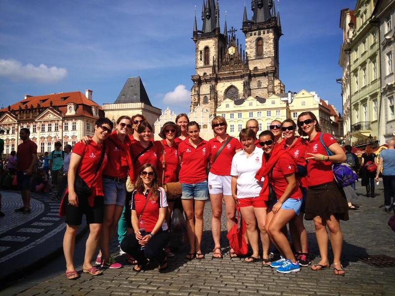 Swiss 7's team in Prague for the European Championship