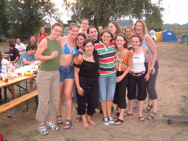 Digging out old pics for a party and found this of the Basel Birds rugby team from 2003.