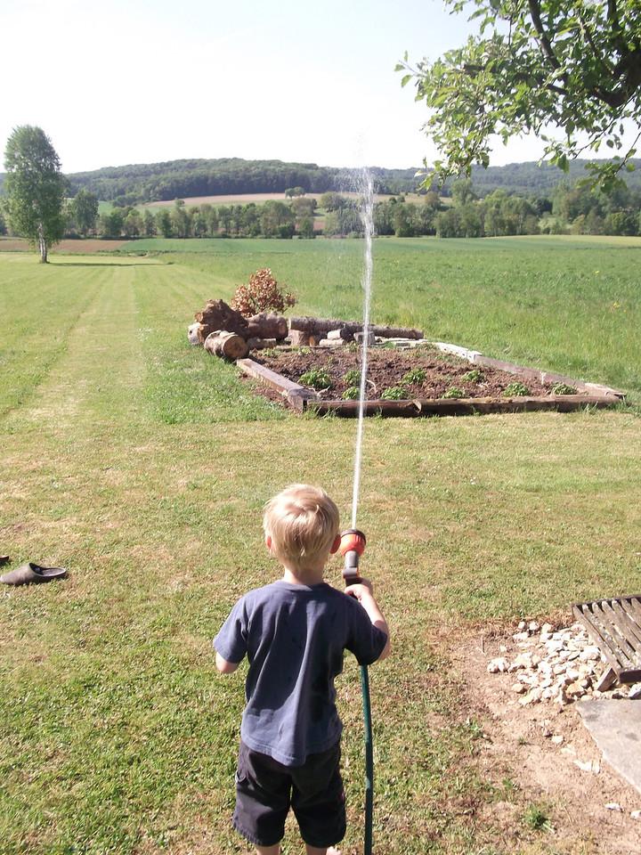 020 Watering the Garden
