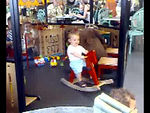 Mike & Jack met the Dilliers in Pfauen for a coffee; they have a great little play area