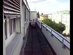 Kaili, Findlay, Jamie & Jack on the balcony at Findlay's 2nd birthday party.