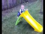 Weeeeeee down the slide!